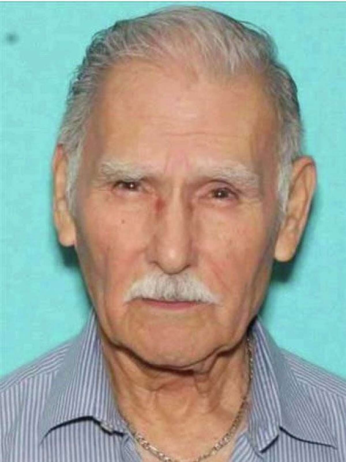 Ambrosio Ruiz Saenz, 84, was last seen Thursday, April 1, 2021, in downtown San Antonio. San Antonio police are searching for him.