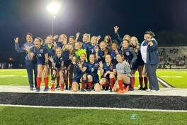 Hardin-Jefferson girls soccer beat Lumberton in dramatic fashion Thursday night to advance in the Class 4A state playoffs.