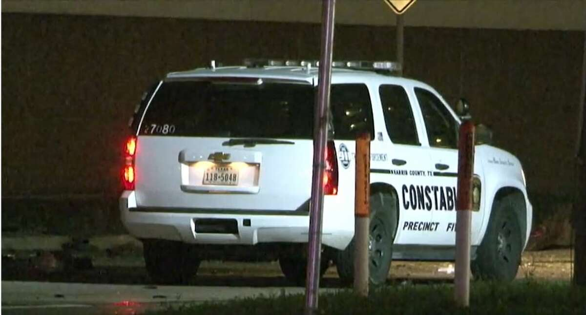 Two drivers were killed early Friday in northwest Houston as Harris County Constable's Office Precinct 5 deputies chased a suspect who struck an uninvolved vehicle.