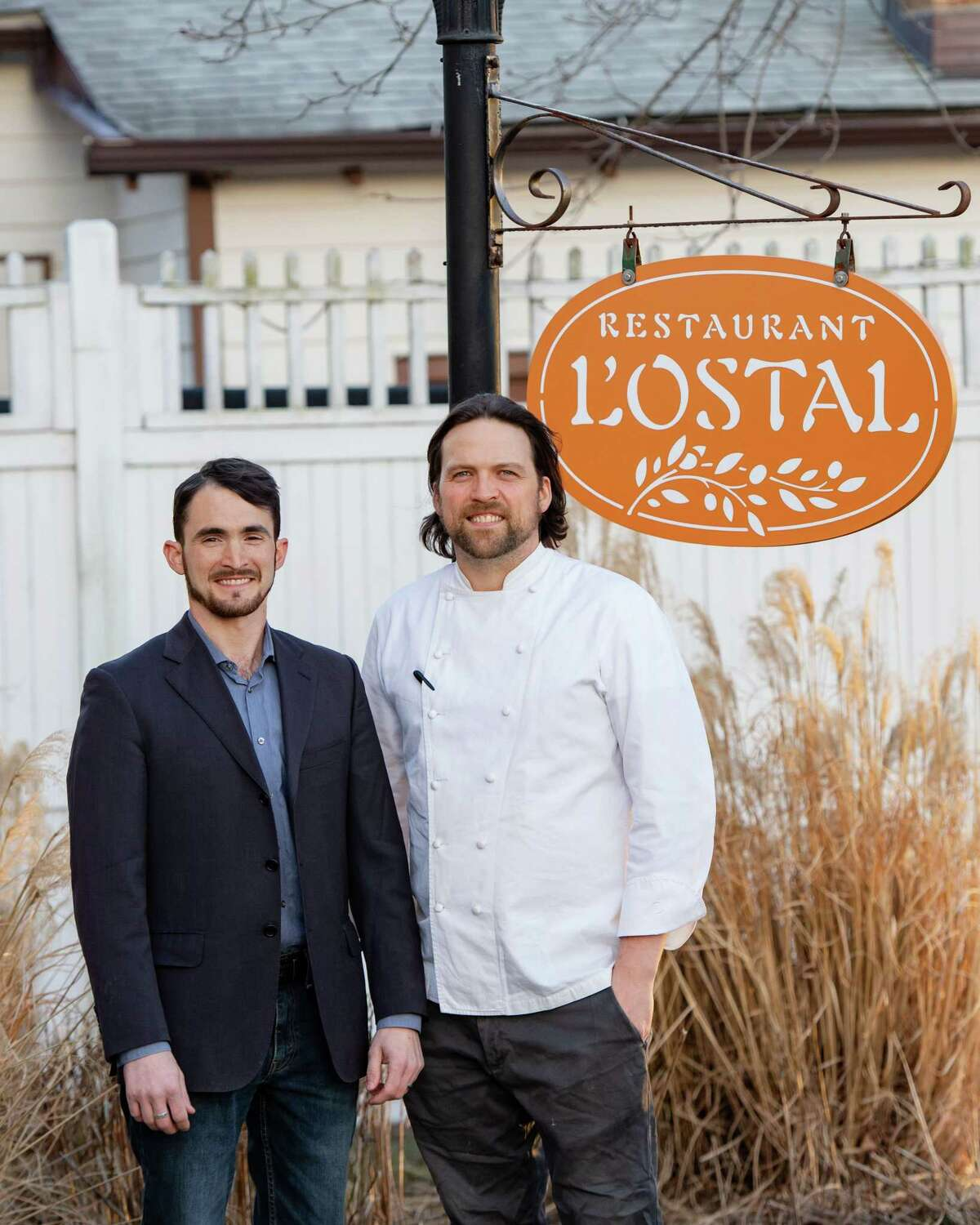 Chef-owner Jared Sippel, right, with general manager Joe Cracco.