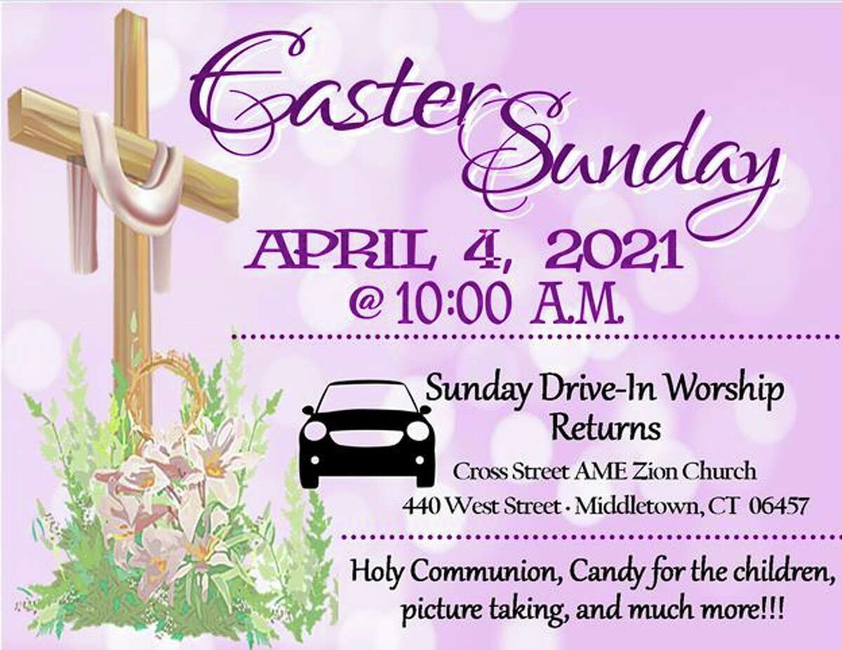 Cross Street AME Zion Church is offering drive-through Easter service Sunday in Middletown.