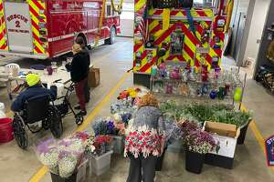 Bethel's Stony Hill Volunteer Fire Company is selling flowers this weekend during its annual Easter Flower Sale.