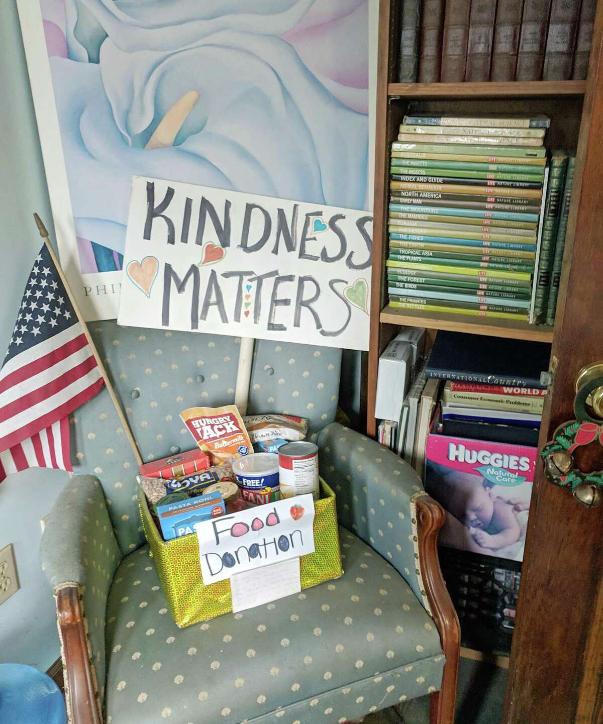 Bennett's Books, at 171 Main St., in Deep River, is a community supported bookstore.