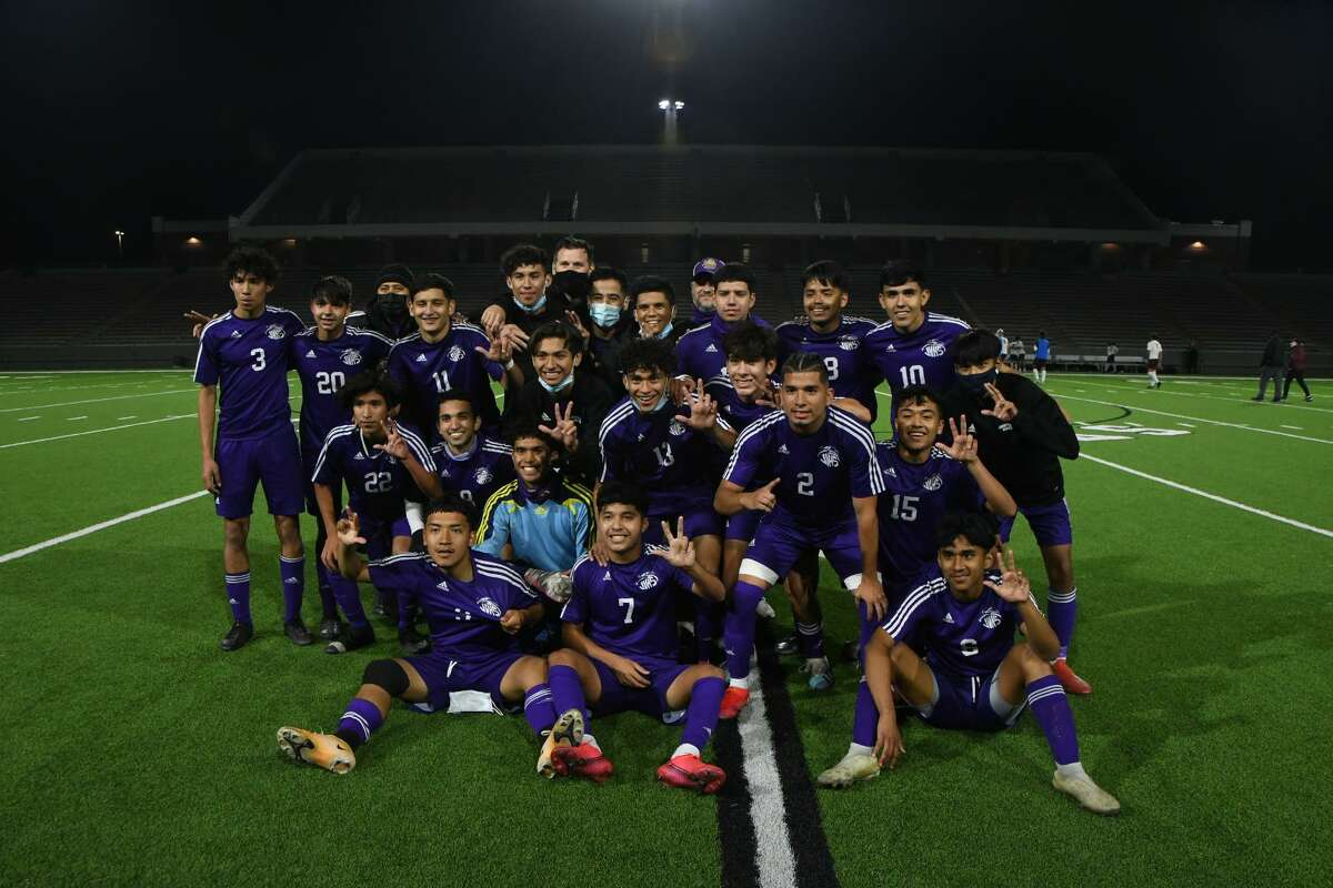 The Jersey Village boys soccer team defeated Cinco Ranch 5-1 in the Region III-6A quarterfinals April 1 at Pridgeon Stadium.
