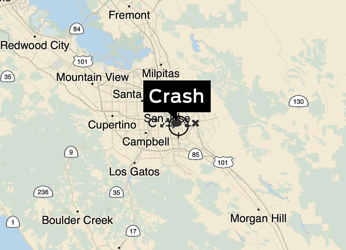 A woman using a wheelchair was struck and killed by a car in San Jose near Monterey Highway and Curtner Avenue, authorities said.