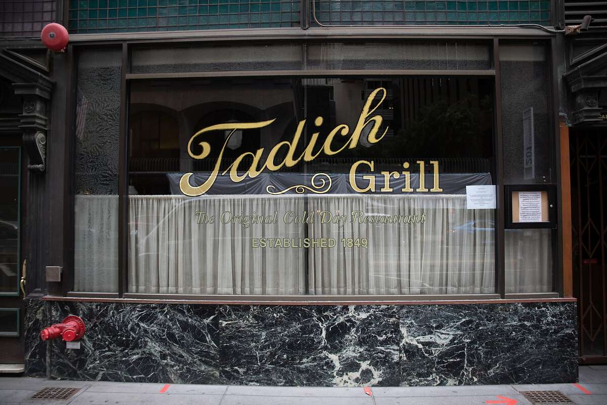 San Francisco's historic Tadich Grill hasn't hosted diners inside for more than a year.
