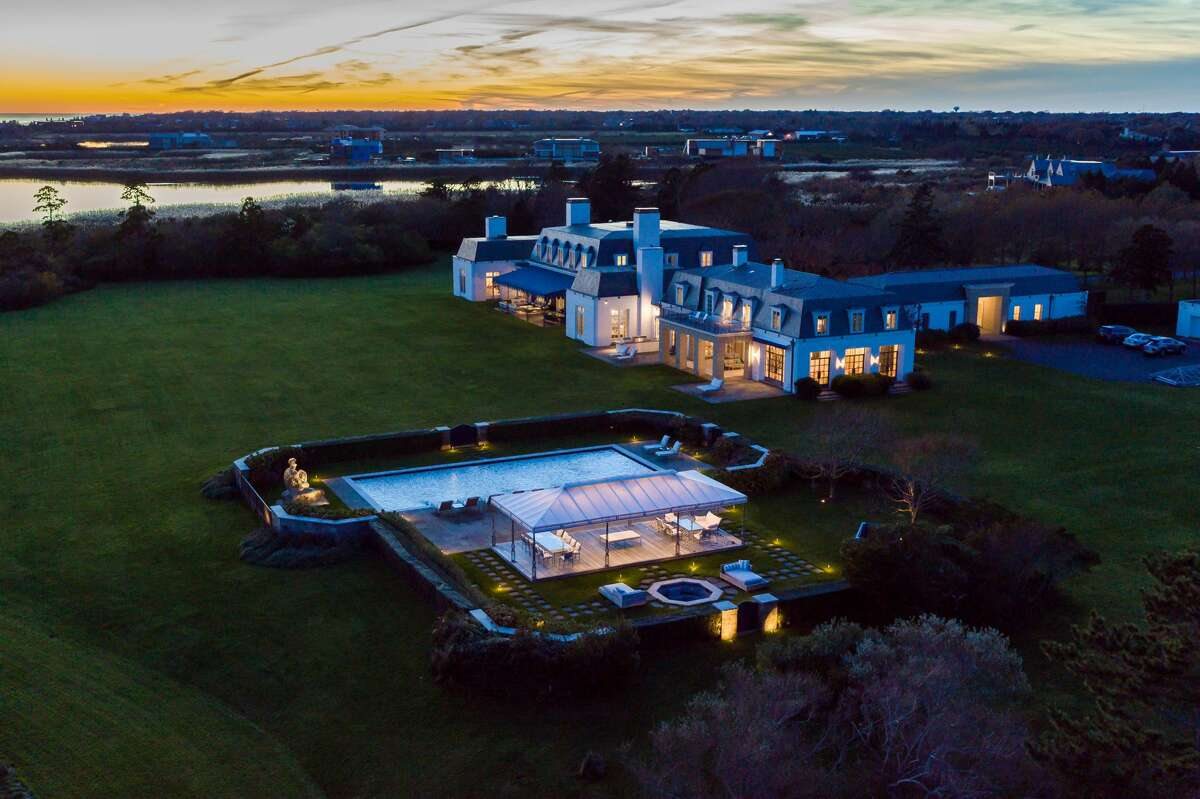 """90 Jule Pond Drive in Southampton, N.Y. This home """"takes top honors as the single largest waterfront property we have ever photographed,"""" said Daniel Milstein of Daniel Milstein Photography. """"Forty-two acres with 1,286 linear ft of Atlantic beachfront next to a nature preserve that doubles the amount of open beach."""""""