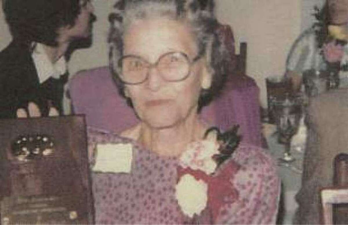 Mary Alice Hunt was the first president of the Conroe Art League in 1963. Hunt was an art teacher at Sam Houston Elementary School for 20 years.