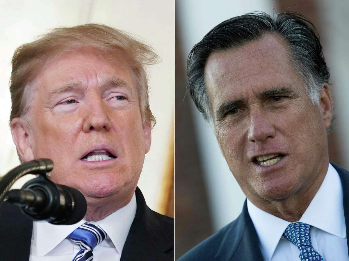 Former President Donald Trump and Utah Sen. Mitt Romney have different leadership styles. There is room for both in the GOP.
