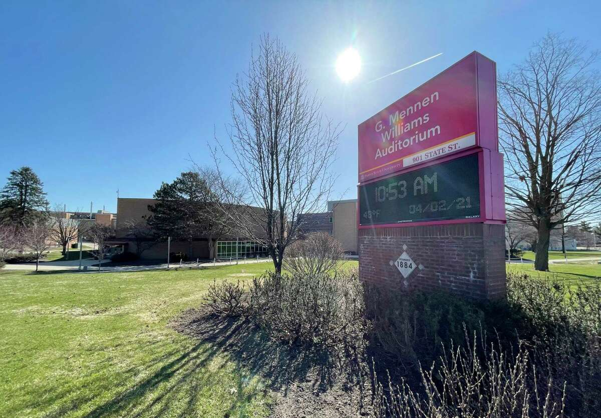 Williams Auditorium on the Ferris State University campus will be the site of future Mecosta and Osceola county jury trials as soon as the health department and the state courts administrative officeapprove conducting jury trials once again. (Pioneer photo/Bradley Massman)