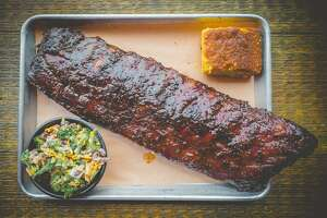 Ribs at Bear's Smokehouse
