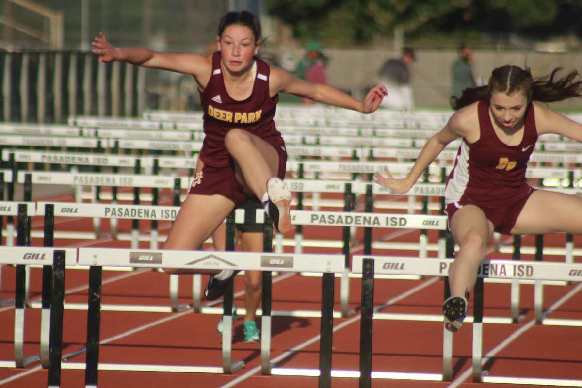 Deer Park shut out district champ Dobie 24-0 in the 100-meter hurdles, thanks to a 1-2-3 finish Thursday night.