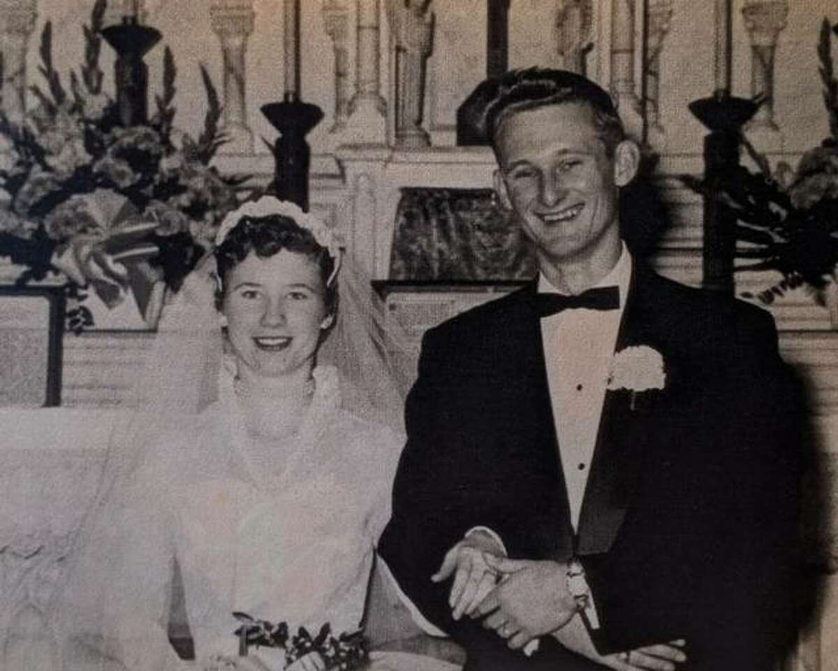 Neal and Donna Funk in 1957