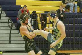 Manistee's Keith Barke capped his prep wrestling career at the Division 3 state finals in Kalamazoo on Friday. (News Advocate file photo)