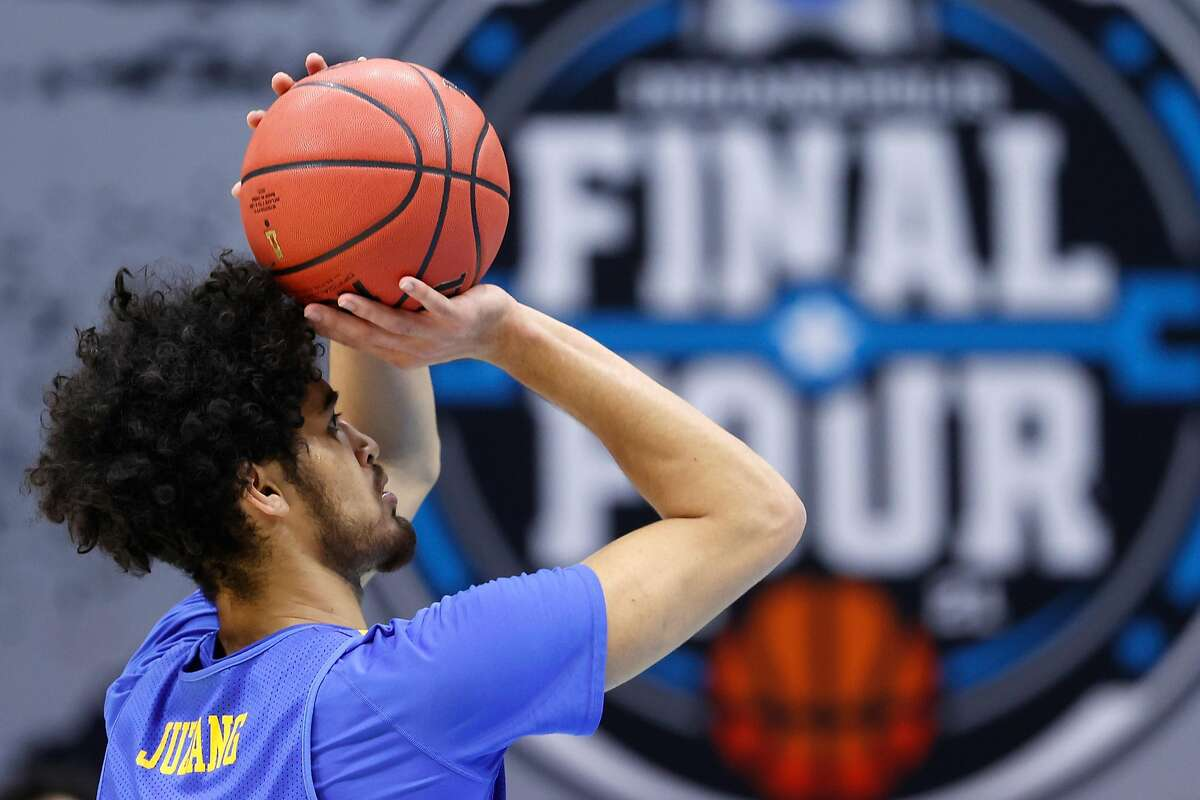 Johnny Juzang and his UCLA teammates will try to extend their postseason run when they face Gonzaga in the Final Four at 5:30 p.m. Saturday on CBS.
