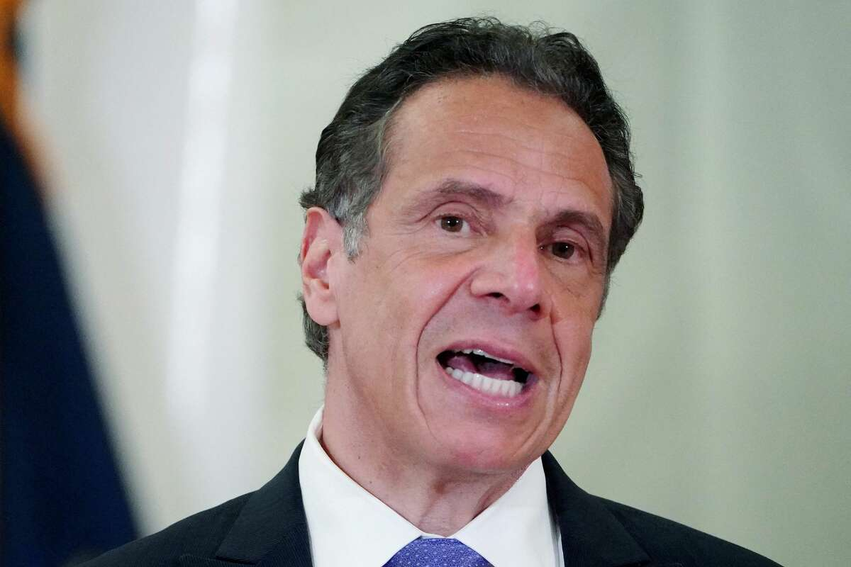 New York Governor Andrew Cuomo speaks last month at an event in the Bronx.