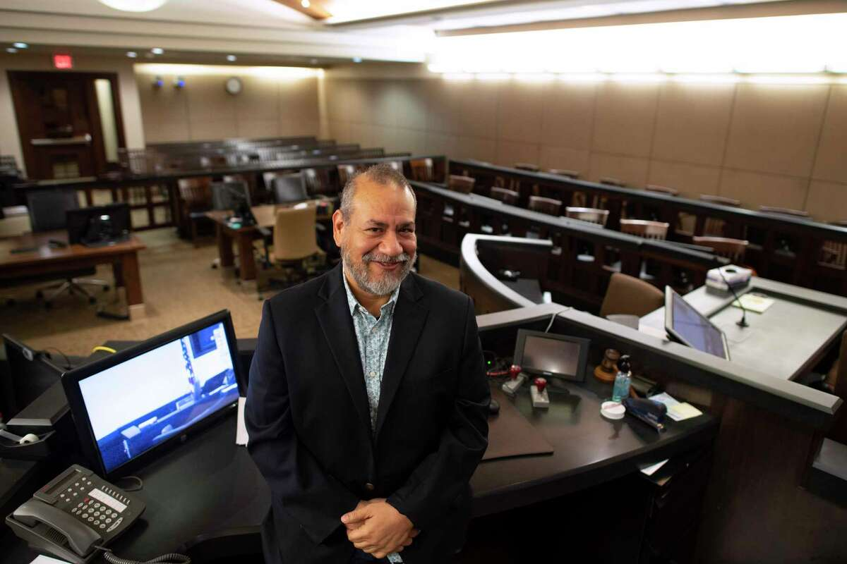 State District Judge Ron Rangel is optimistic that in-person jury trials could begin by June. Bexar County has not had one in more than a year.