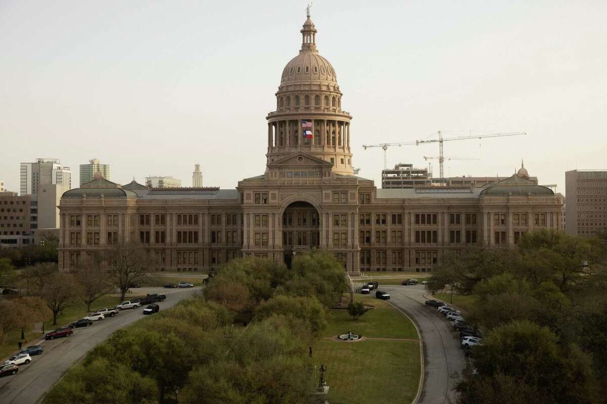 The Texas Capitol in Austin on March 17.