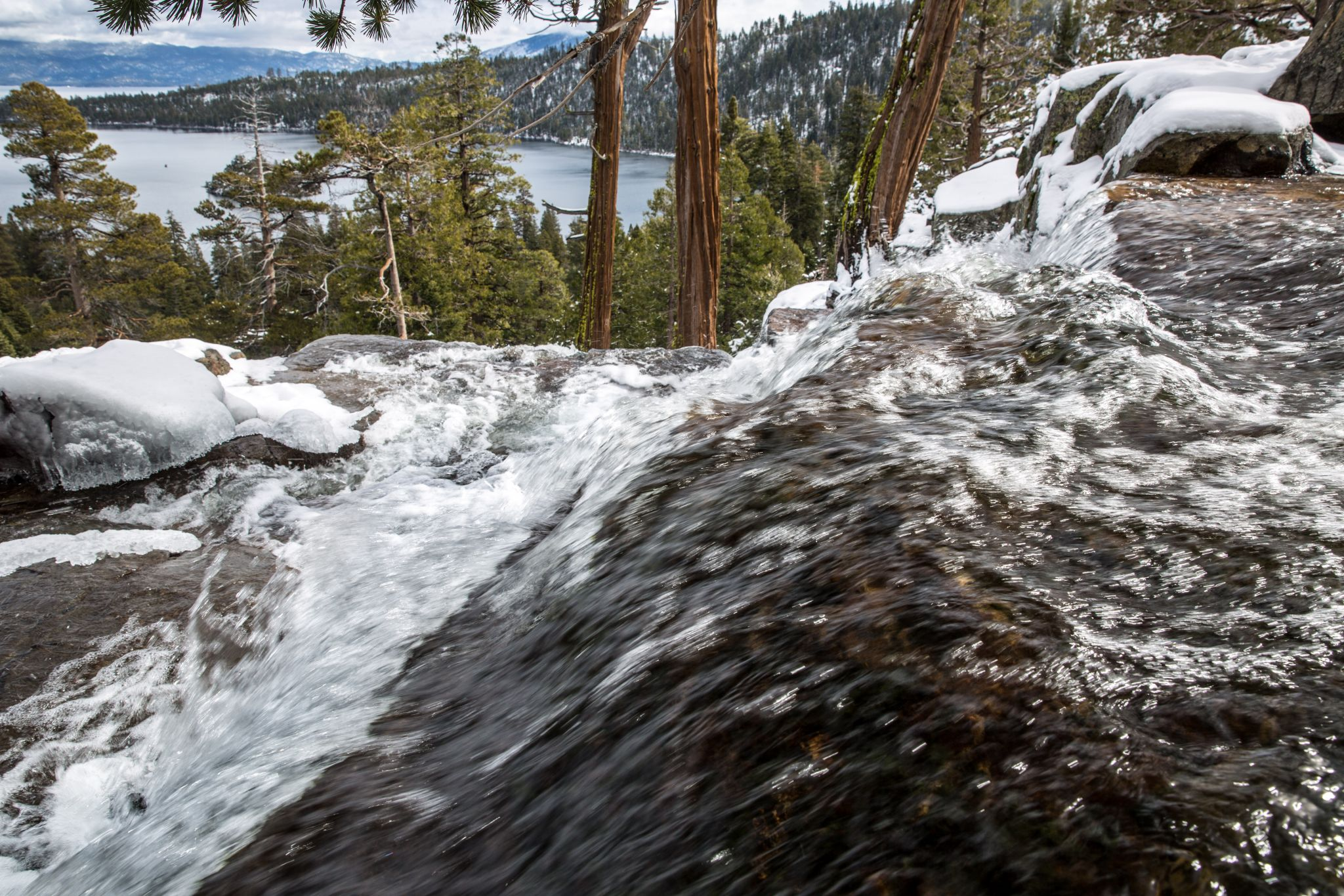 Why I can't ever stop hiking to this waterfall in Lake Tahoe