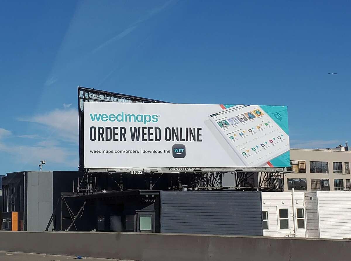 A bill in the California Legislature would further limit cannabis billboards.