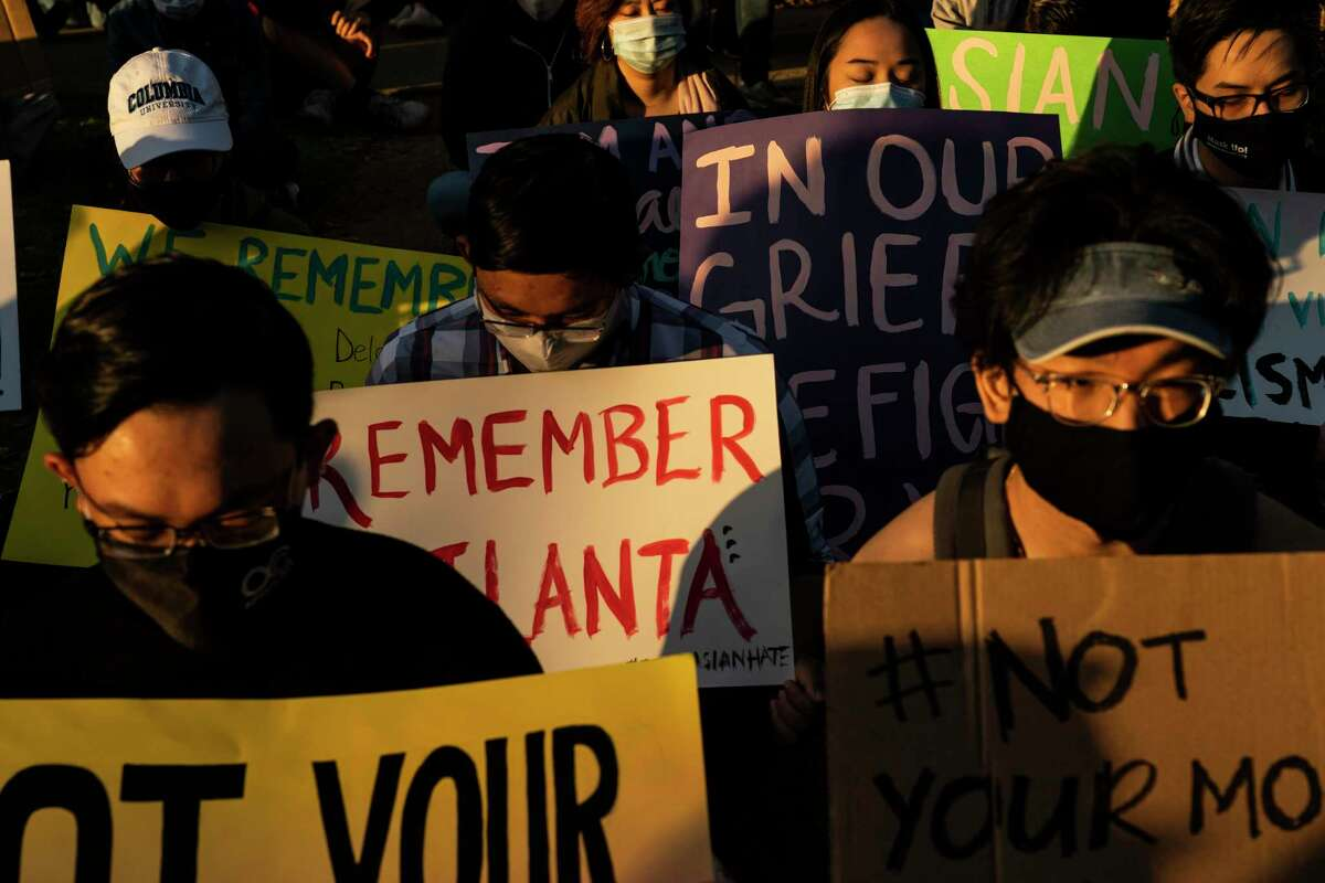 A vigil in Houston calls for attention to anti-Asian violence. A reader urges people to treat everyone with empathy.