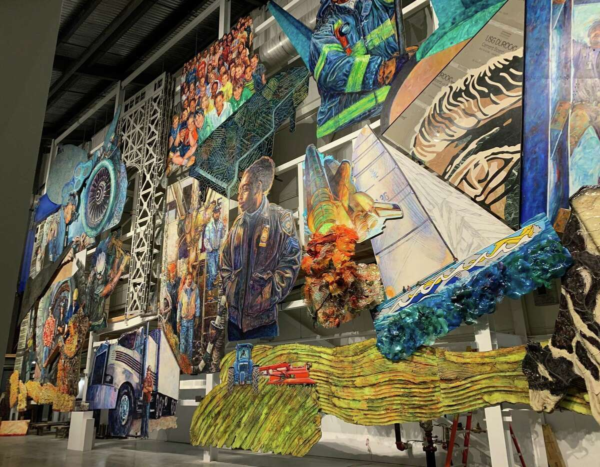 """The American Mural Project will present the virtual program, """"A Tribute to American Workers,"""" April 28."""