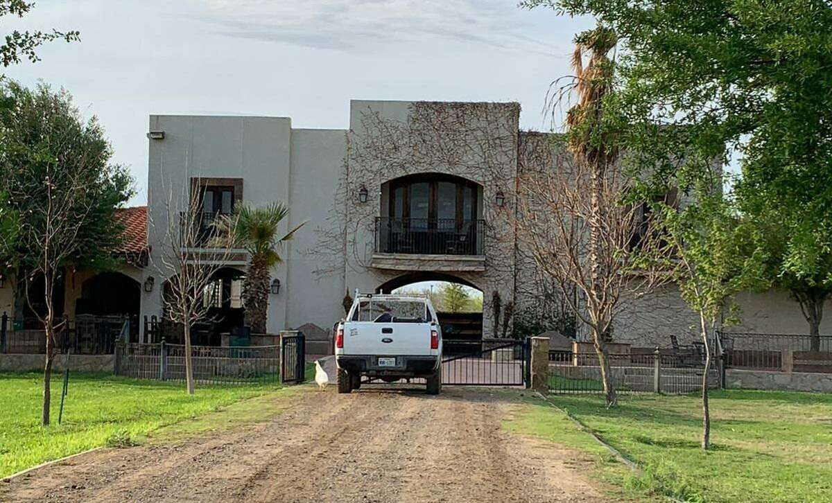 Federal authorities said they found 18 people at this home located in the 400 block of Falcon Drive. All were determined to be immigrants illegally present in the country.