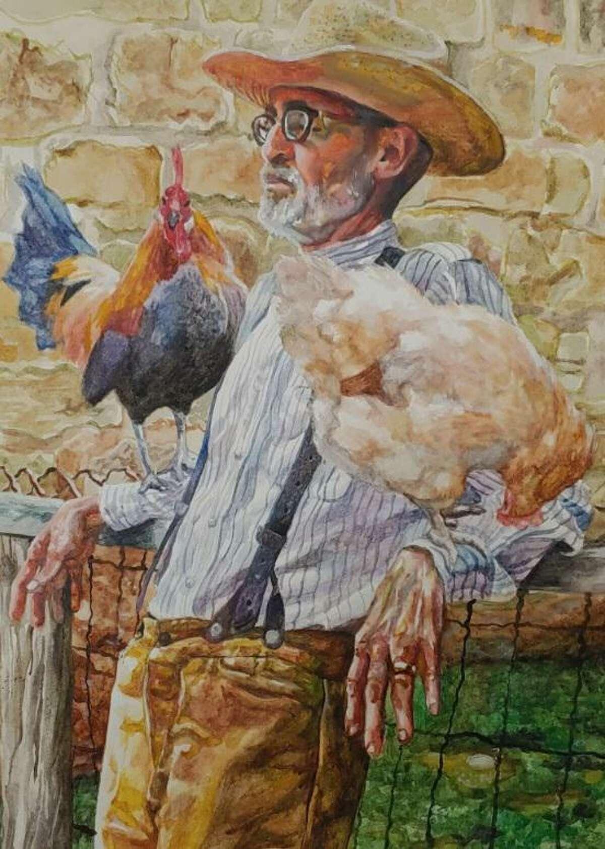 """The Chicken Whisperer"" by Spring High School senior Ruth Hardy."