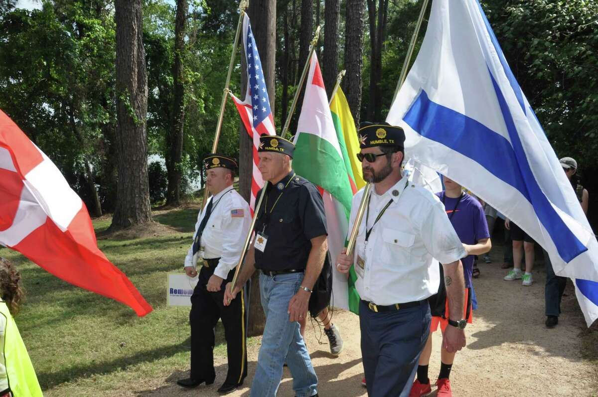 While the official March of Remembrance Kingwood event begins at 2 p.m., starting at 1 p.m. there will be a pre-event with music. Holocaust survivor Bill Orlin will speak at the event and is joined by fellow survivor Ruth Seinfeld.