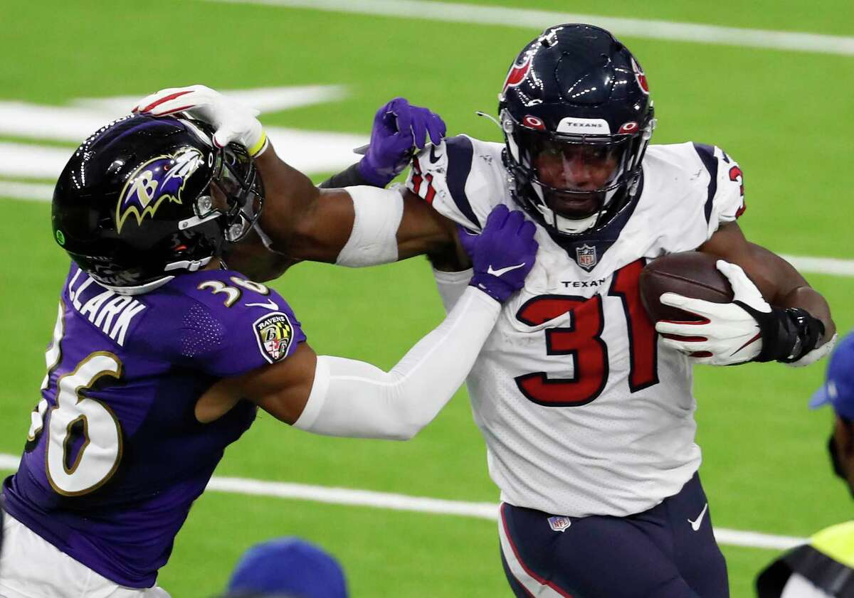 David Johnson will have more competition in the backfield heading into his second season with the Texans.