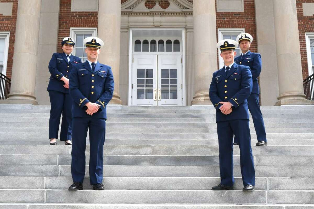 A team from the U.S. Coast Guard Academy took first place at the Sanremo International Institute of Humanitarian Law Competition for Military Academies, March 25, 2021.