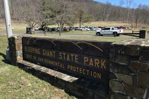 Sleeping Giant State Park Monday March 16, 2020