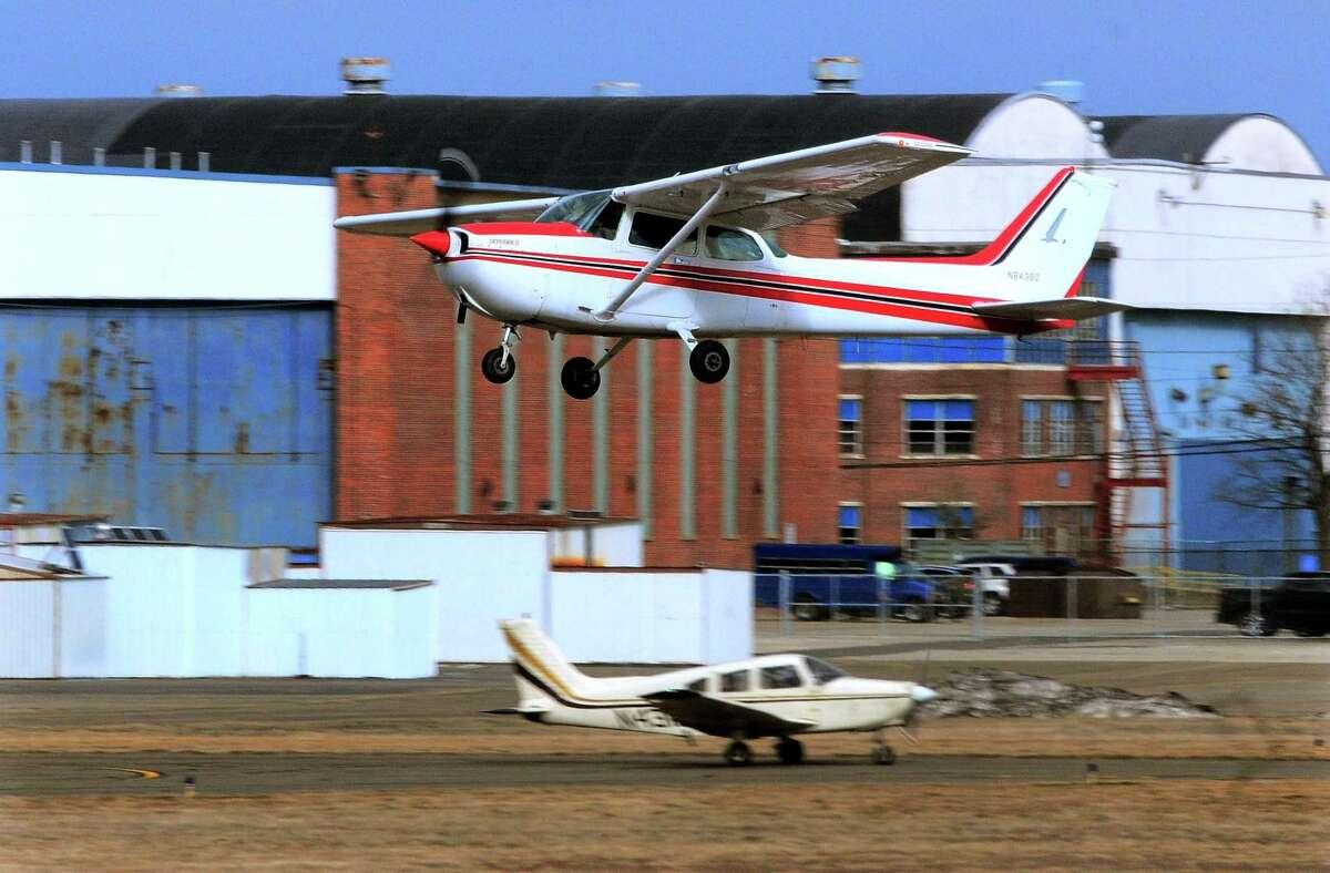 Views of Sikorsky Memorial Airport in Stratford, Conn., on Friday Jan. 22, 2021.
