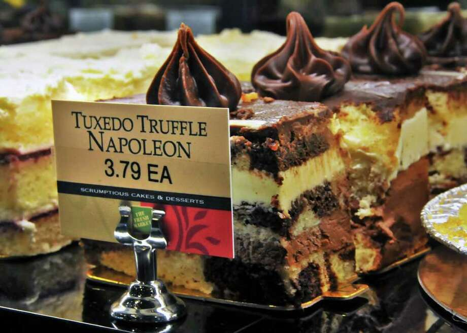 The Fresh Market allows shoppers to sample most items on request, and stocks plenty of decadent desserts in its bakery. (John Carl D'Annibale / Times Union) Photo: John Carl D'Annibale / 00009886A