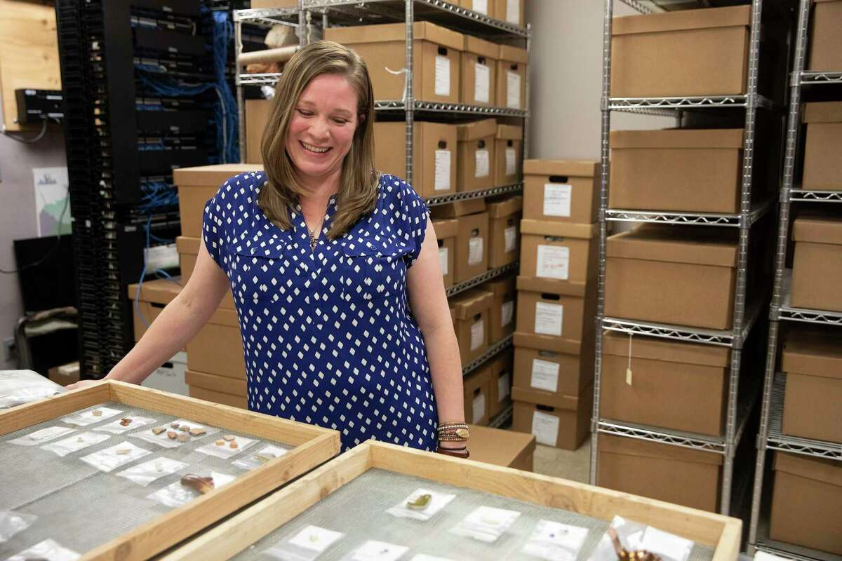 Rhiana Ward, who works for San Antonio-based engineering consulting firm Raba Kistner, recently led an excavation team during a preservation project at the Alamo. Ward was one of four full-time women archaeologists on the Alamo crew during the 18-month project.
