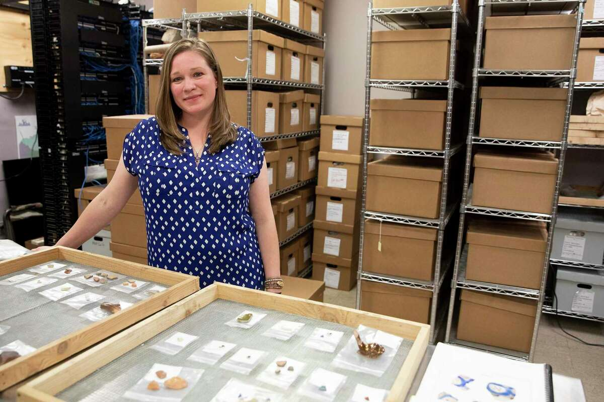 Rhiana Ward is a leading archaeologist for San Antonio-based engineering consulting firm Raba Kistner, who recently led her excavation team on a preservation project at the Alamo. Ward was one of four full-time women archaeologists on the Alamo crew during the 18-month project.