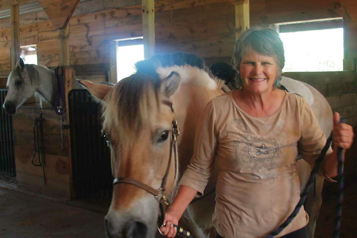 Mary Van Dorp shows Nana, a Norwegian Fjord therapy horse at Northern Pathways Equine Center in 2019. She wasappointed to serve on the Michigan Trails Advisory Council (MTAC), for a term which began March 26.(File photo)
