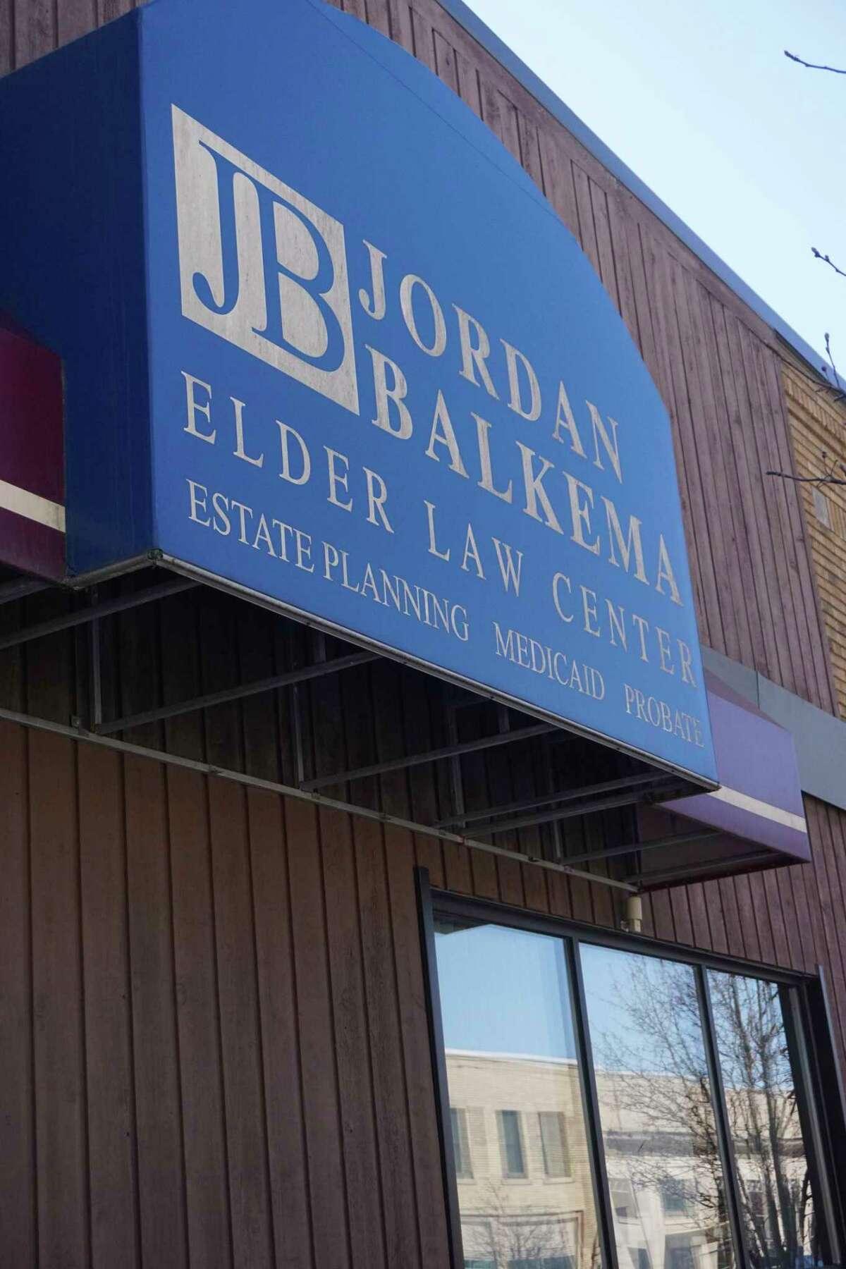 The Jordan Balkema Elder Law Center has been at its current location since 1987. (Pioneer photo/Joe Judd)