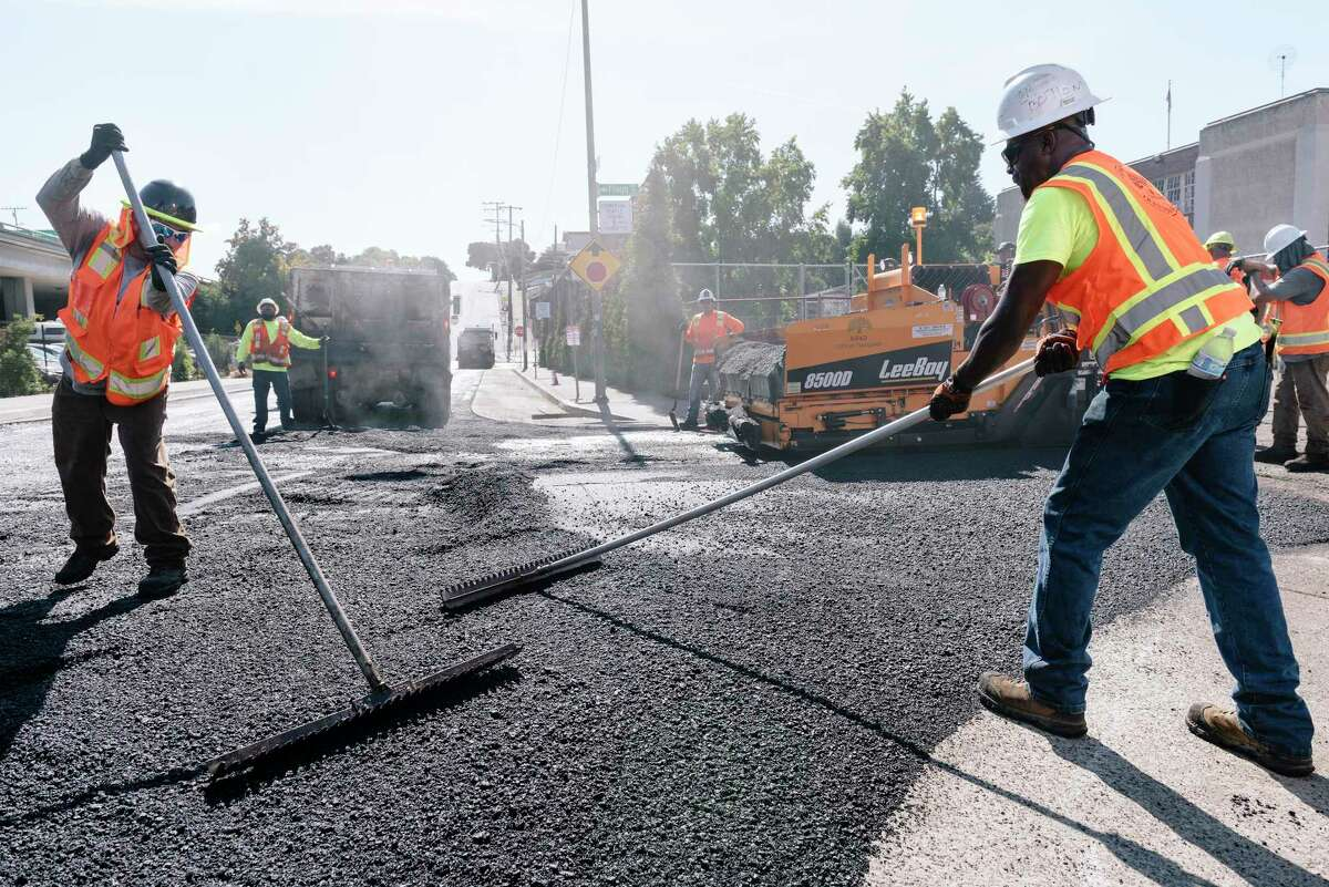 President Biden's infrastructure program would benefit the oil industry with a jump in demand for asphalt to repair crumbling highways and pave new ones. Asphalt is derived from the heaviest and most-dense material in a barrel of crude.