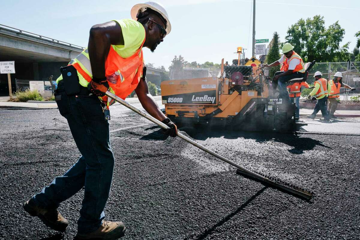 Asphalt is derived from the heaviest and most-dense material in a barrel of crude.