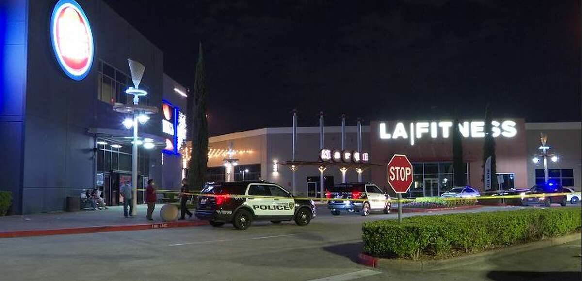 A father was fatally shot in front of his daughter in a suspected robbery on Sunday night after a family outing at Dave Busters, according to the Houston Police Department.