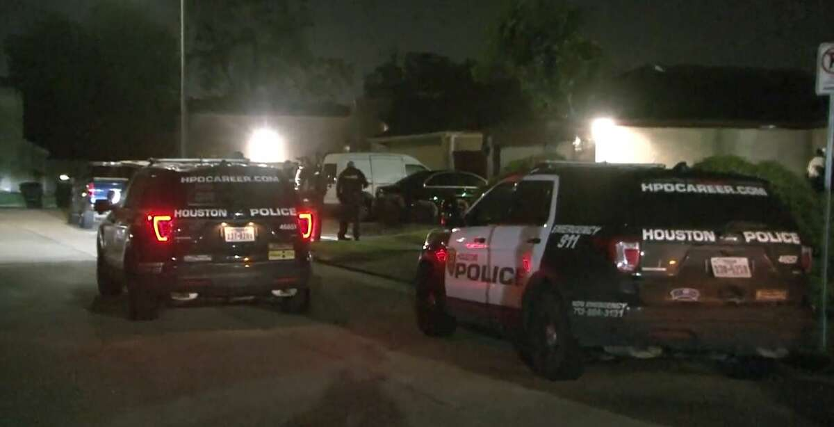 A woman shot a man in the leg after he followed her home from a Houston club, knocked on her door and started an altercation with her early Monday morning, according to police.