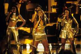 """Destiny's Child during """"Divas 2000"""" Tribute to Diana Ross at Madison Square Garden in New York City, New York, United States. (Photo by Ke.Mazur/WireImage)"""