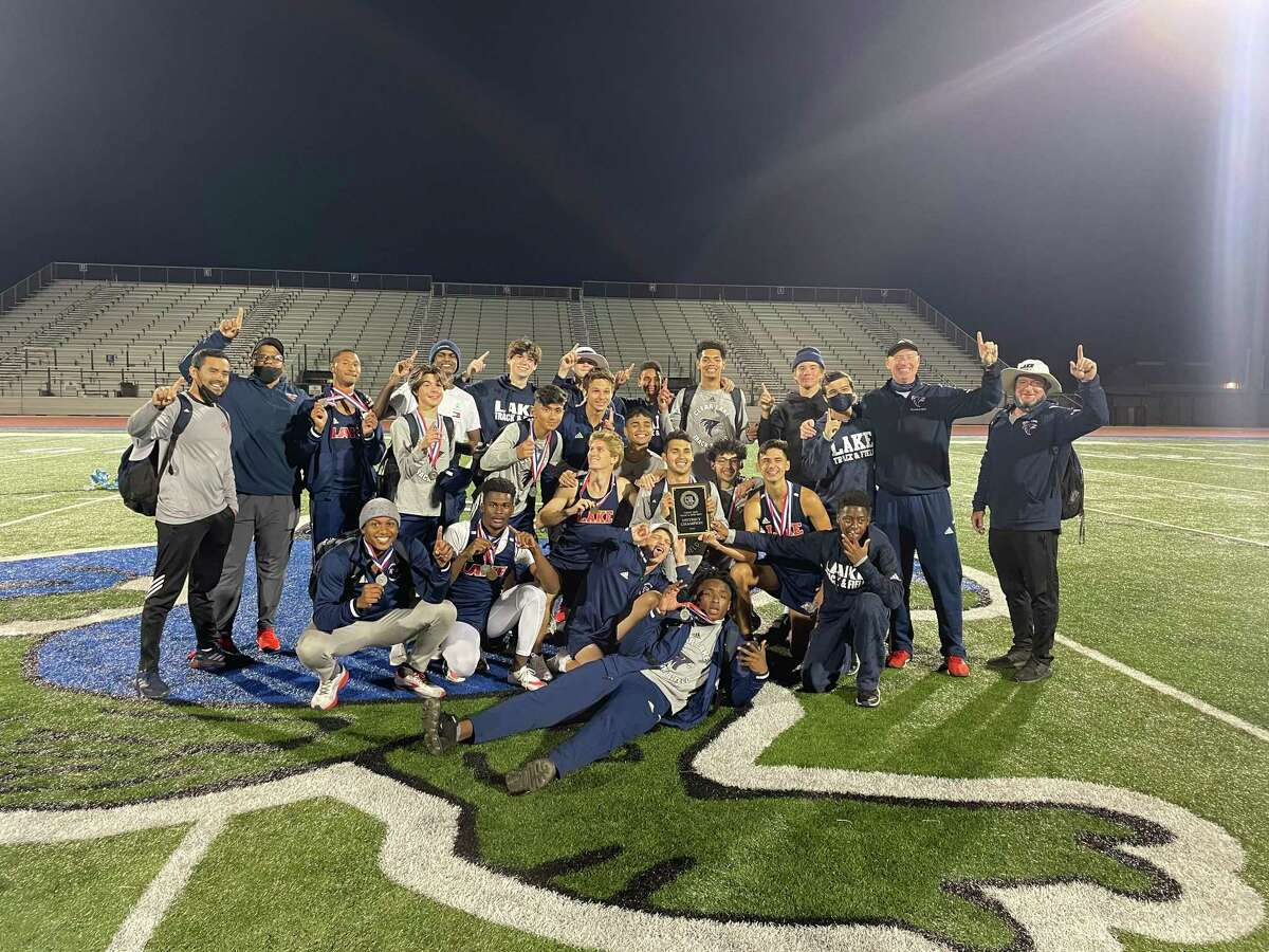The Clear Lake boys track team won the District 24-6A championships by 10 points over Clear Springs.