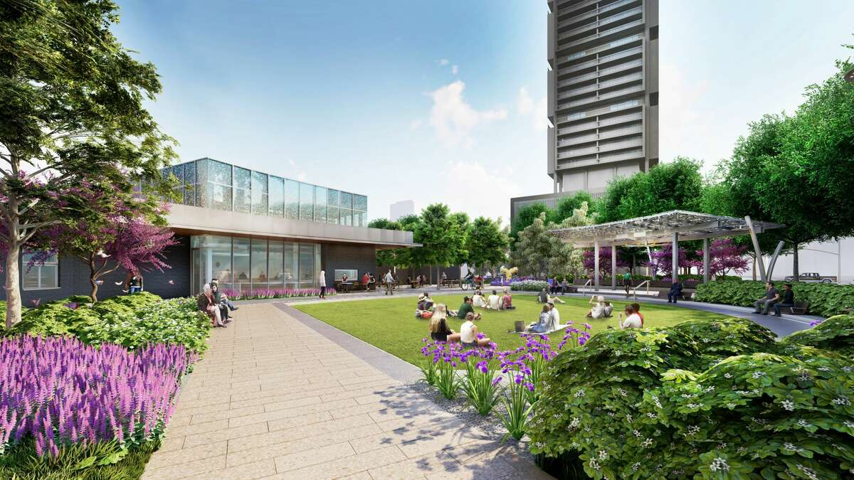 A rendering of the new Trebly Park looks pretty impressive.