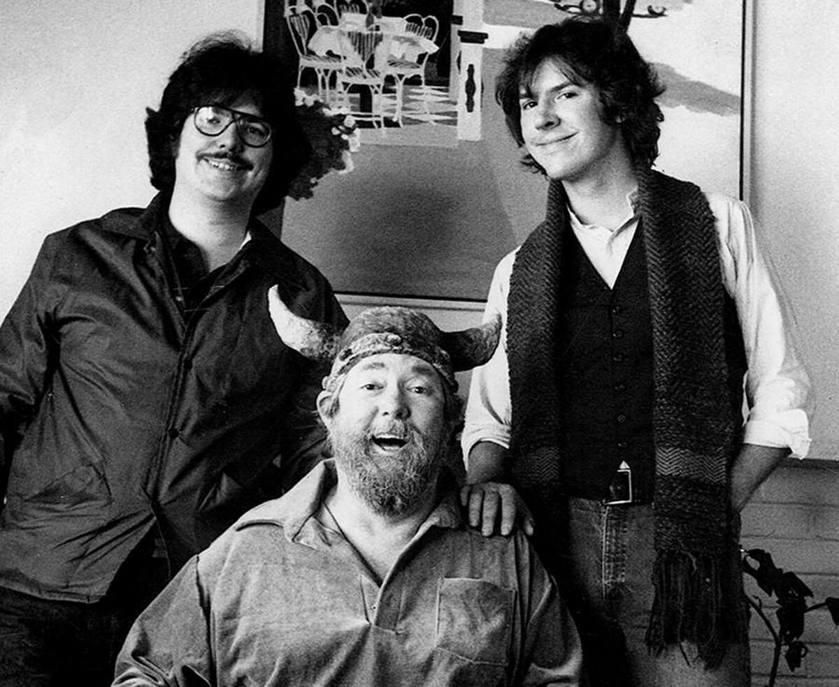 (Pictured left to right) Chris, Dik and Chance Browne, ca. 1980