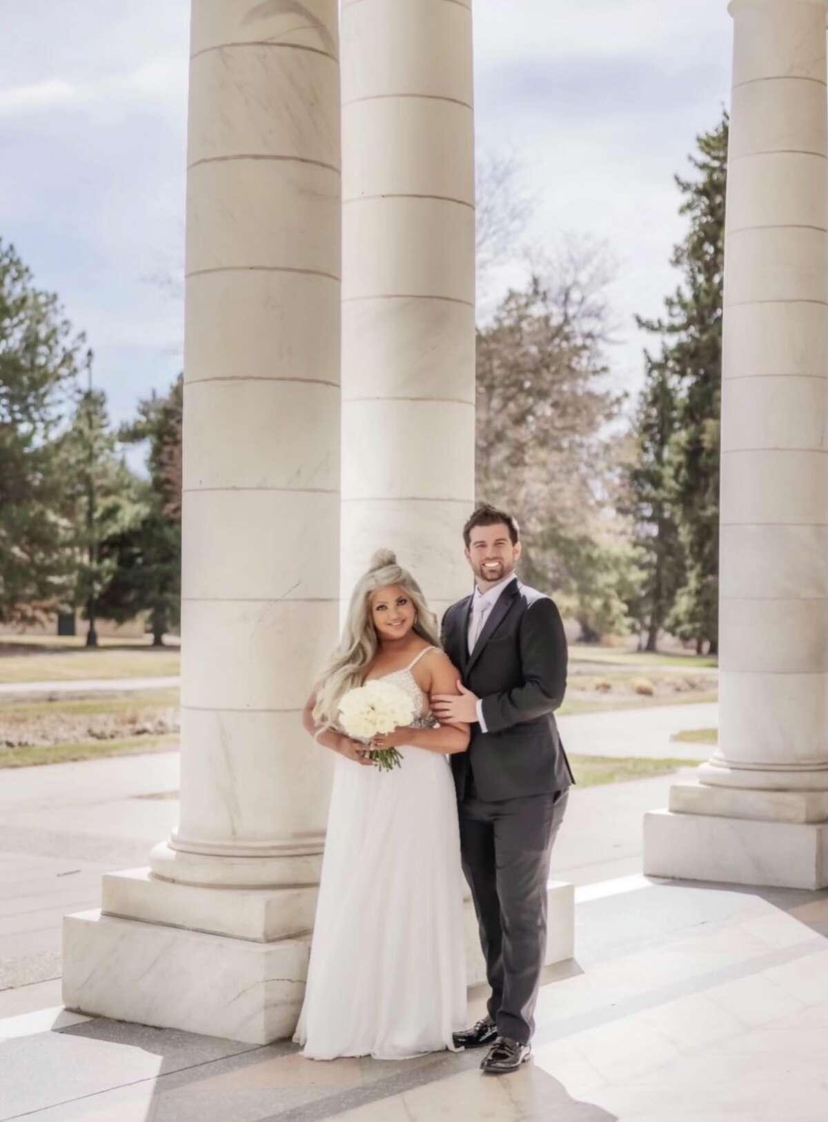 Bridget Smith married her longtime boyfriend on March 28, 2021.