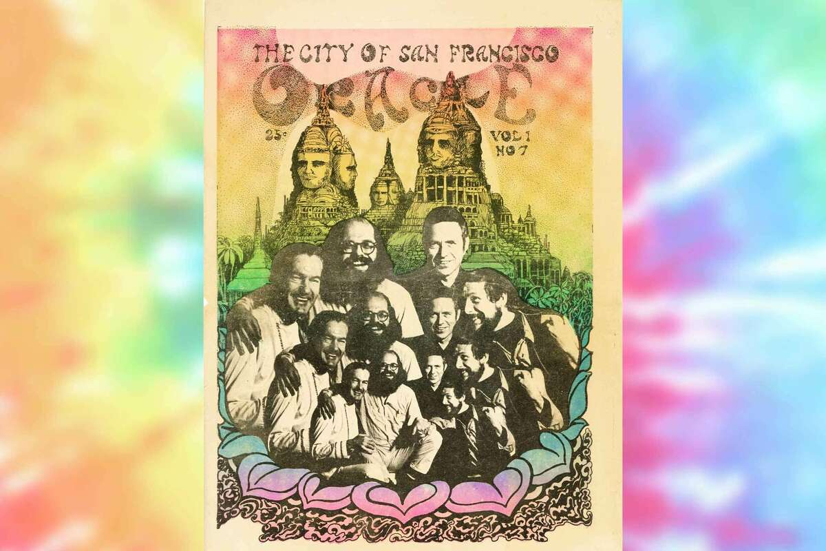 The cover of issue seven of the San Francisco Oracle.