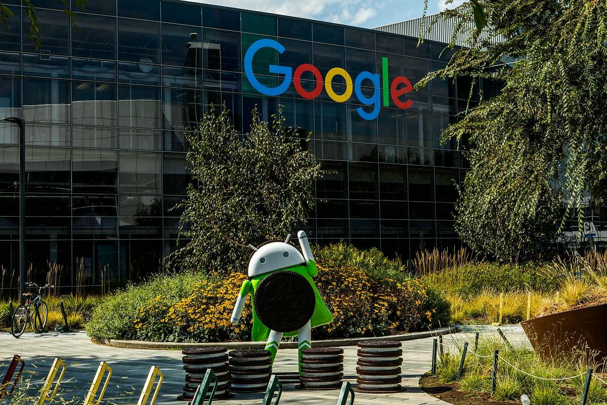 FILE -- Google's main campus in Mountain View, Calif., Sept. 12, 2017. (Christie Hemm Klok/The New York Times)