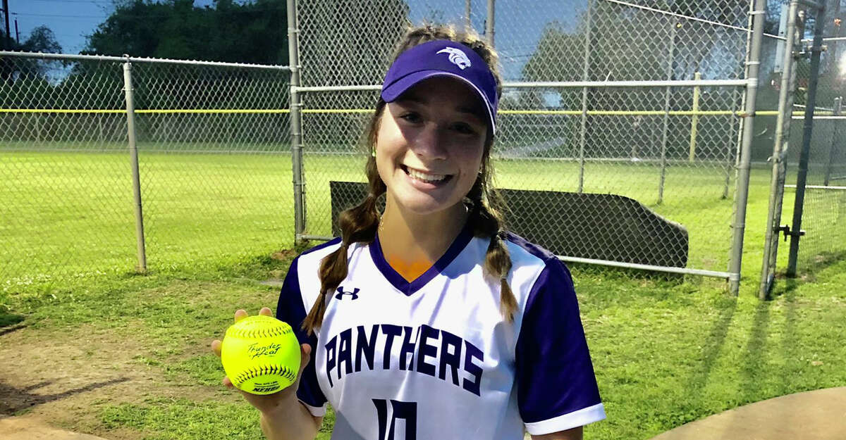 Ridge Point's Blane Simmons is the girls athlete of the week.